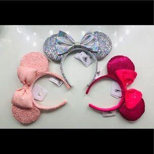 Disney Parks Minnie Mouse Ears Bundle!